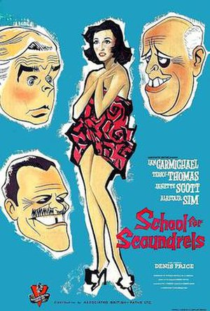 School for Scoundrels (1960 film) - Original UK poster