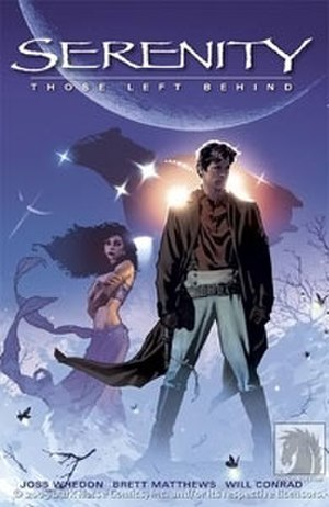 Serenity (comics) - Cover art for the trade paperback of Serenity: Those Left Behind