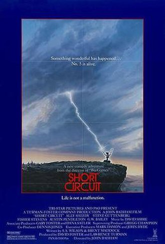 Short Circuit (1986 film) - Image: Short Circuit (1986 film poster)