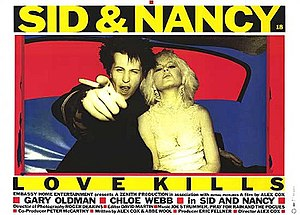 Sid and Nancy - Theatrical release poster