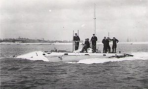Royal Navy Submarine Service - Image: Smfirstholland