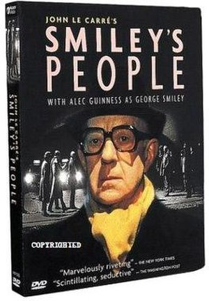 Smiley's People - US DVD cover for the 1982 BBC series of Smiley's People.