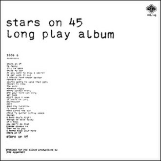 Stars on 45 - The original Dutch CNR Records edition of the first Stars on 45 album, Long Play Album.