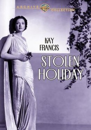 Stolen Holiday - Image: Stolen Holiday Film Poster