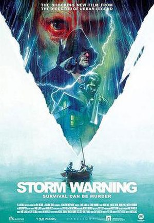 Storm Warning (2007 film) - Theatrical poster art