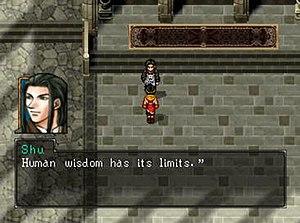 Suikoden II - Dialogue between characters in Suikoden 2 is an important part of gameplay.