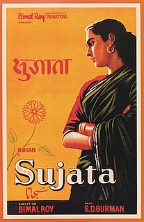 <i>Sujata</i> (1959 film) 1959 Hindi language film directed by Bimal Roy