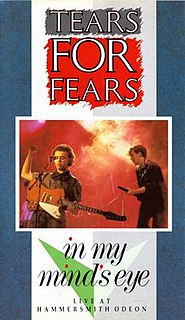 <i>In My Minds Eye</i> 1984 video by Tears for Fears