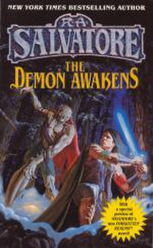 The DemonWars Saga - 1998 Del Rey paperback of The Demon Awakens, illustrated by Alan Pollock