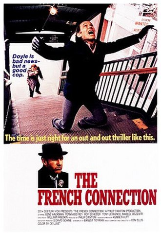 The French Connection (film) - Theatrical release poster