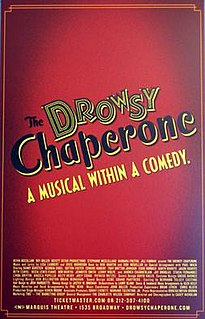 <i>The Drowsy Chaperone</i> musical