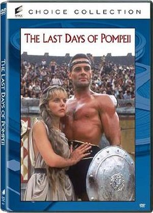 The Last Days of Pompeii (miniseries) - DVD cover of the series.