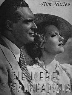 <i>The Love of the Maharaja</i> 1936 film