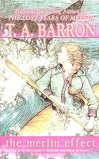 <i>The Merlin Effect</i> book by T.A. Barron