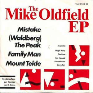 The Mike Oldfield EP - Image: The Mike Oldfield EP