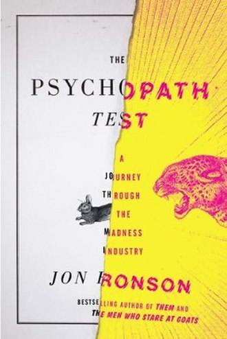 The Psychopath Test - Hardcover edition