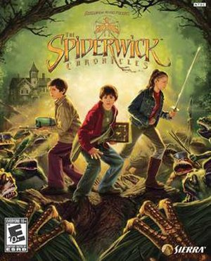 The Spiderwick Chronicles (video game) - Image: The Spiderwick Chronicles Video Game Cover