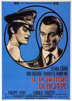 The Night Porter - Italian film poster