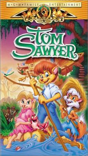 Tom Sawyer (2000 film) - VHS cover