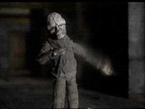 Sober (Tool song) - Screenshot of the Sober music video depicting the humanoid being.