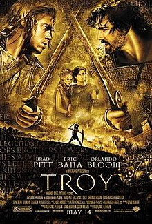 Troy 2004 USA Wolfgang Petersen Brad Pitt Eric Bana Orlando Bloom  Adventure