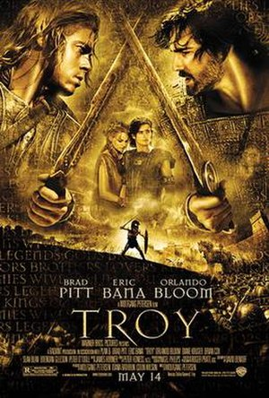 Troy (film) - Theatrical release poster