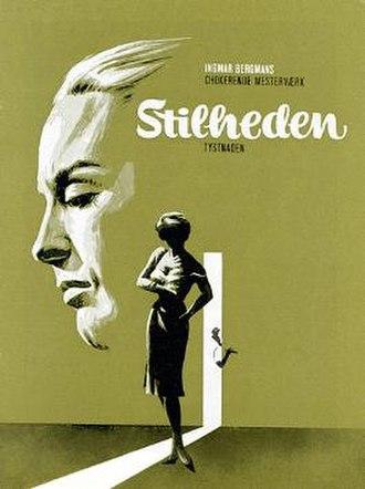 The Silence (1963 film) - Danish film poster