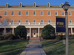 University of Maryland University College - Image: UMUC1