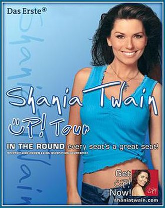 Up! Tour - Promotional poster for the tour