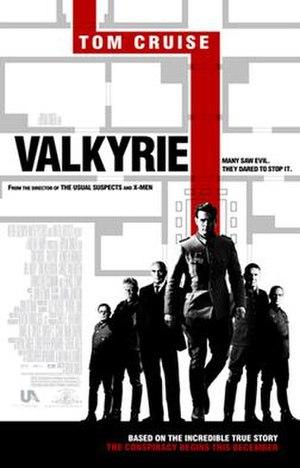 Valkyrie (film) - Image: Valkyrie poster
