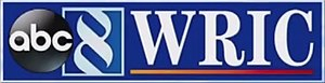 "WRIC-TV - Former WRIC logo from 2004 to 2016. The ABC logo was later added in 2010. WRIC's stylized ""8"" logo was used in a circle from 1990 to 2004 and then in a box until it was retired in October 2016."