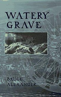 <i>Watery Grave</i> (novel) book by Bruce Alexander Cook