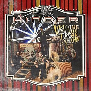 Welcome to the Freakshow (Hinder album) - Image: Welcome to the Freakshow
