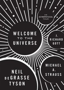 Welcome to the Universe by Neil deGrasse Tyson; book cover.jpg