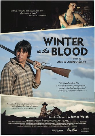 Winter in the Blood (film) - Image: Winter in the Blood poster