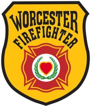 Worcester Fire Department - Image: Worcester Fire Department Logo