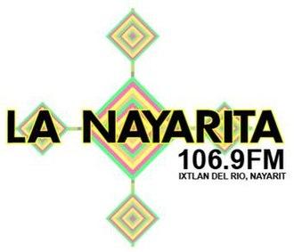 XHERIO-FM - Image: XHERIO La Nayarita logo
