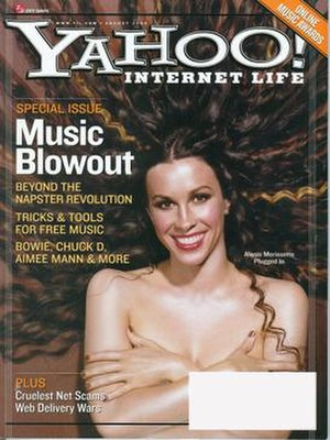 Yahoo! Internet Life - August 2000 issue of Yahoo! Internet Life