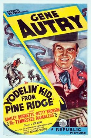 Yodelin' Kid from Pine Ridge - Image: Yodelin' Kid from Pine Ridge Poster