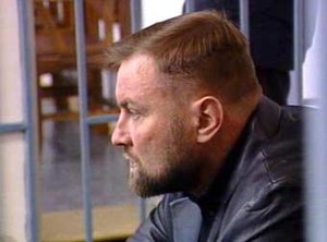 Yuri Budanov - Budanov in the courtroom on his trial