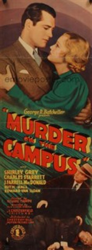 """Murder on the Campus - Image: """"Murder on the Campus"""" (1933)"""