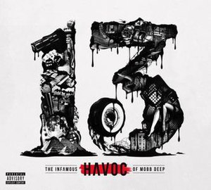 13 (Havoc album) - Image: 13 (Havoc album cover art)