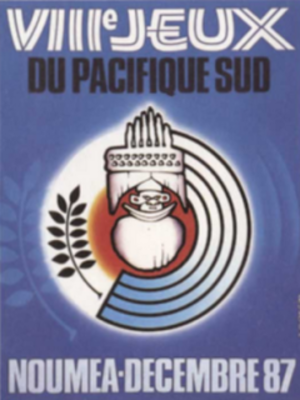 1987 South Pacific Games - Image: 1987 South Pacific Games logo