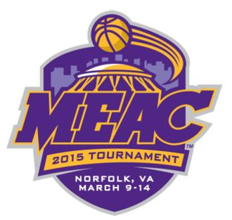 2015 MEAC Men's Basketball Tournament - Image: 2015 MEAC B Ball Logo