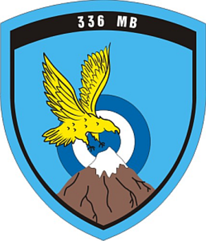 336th Bomber Squadron (HAF) - The badge of 336 Bomber Sq.