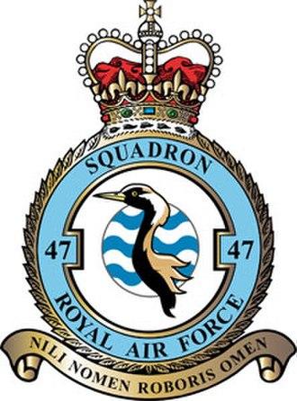 No. 47 Squadron RAF - 47 Squadron badge