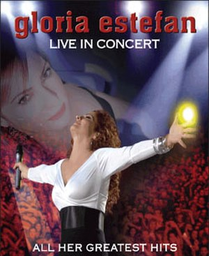 90 Millas World Tour - Promotional Poster for Gloria Estefan Tour