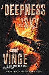 <i>A Deepness in the Sky</i> novel by Vernor Vinge