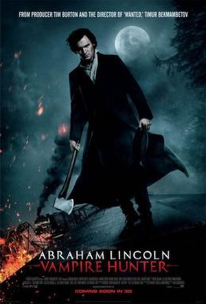 Abraham Lincoln: Vampire Hunter - Theatrical release poster