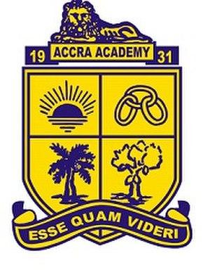 Accra Academy - Accra Academy Crest